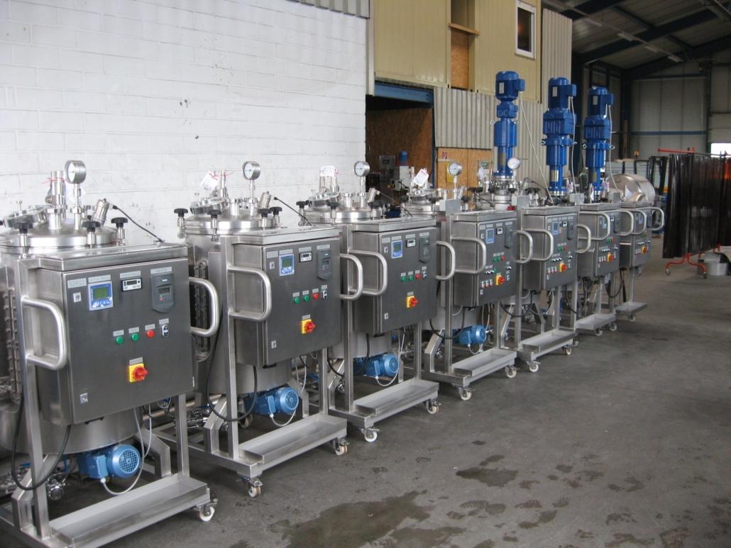 Labor-Ruehrbehaelter 120 Liter