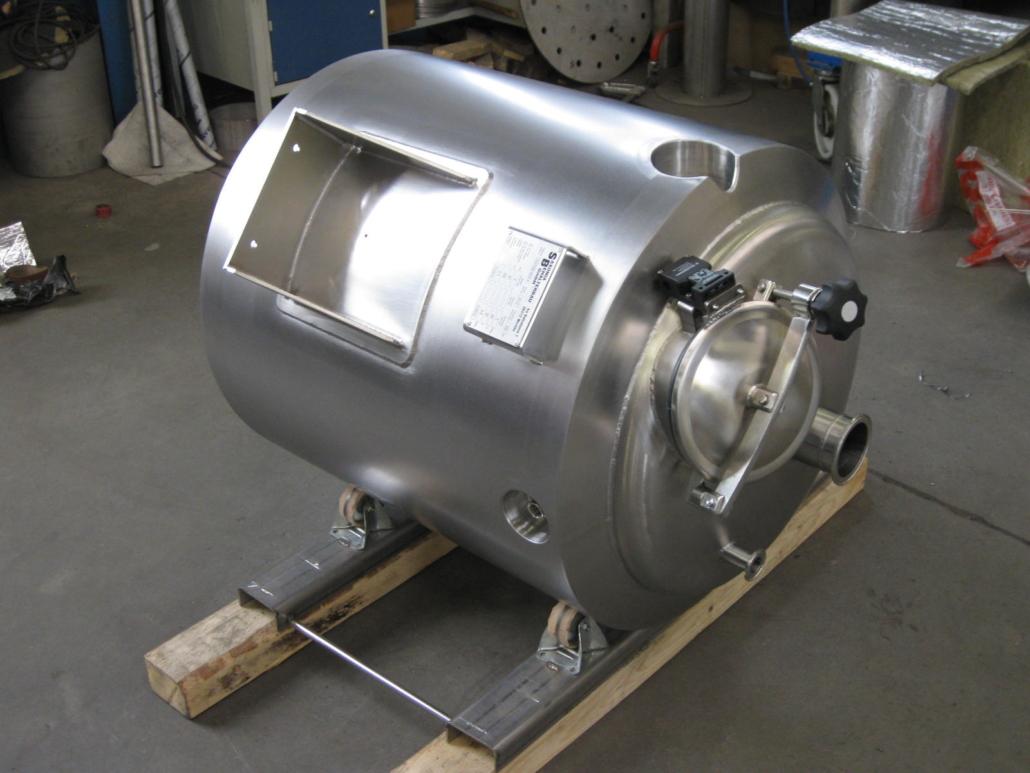 Lagerbehälter 300 Liter isoliert