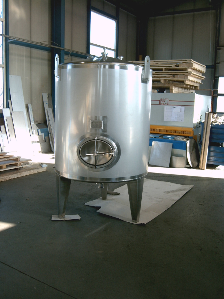 Lebensmittel Lagertank 2 Kubikmeter