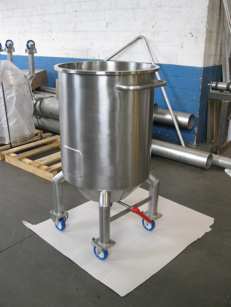 Transportbehaelter für Lebensmittelindustrie 150 Liter